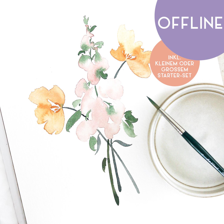 """Workshop """"Floral Watercolor"""" in Nittenau"""
