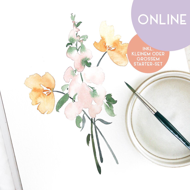 "Workshop ""Floral Watercolor"""
